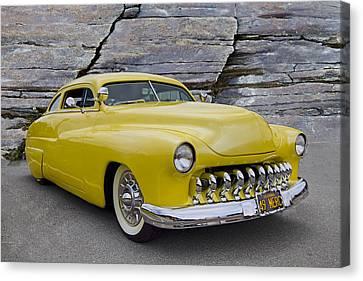 1949 Mercury Coupe Canvas Print