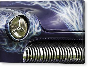 1949 Mercury Eight Hot Rod Canvas Print by Tim Gainey