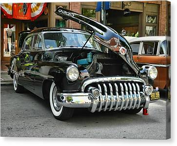 1950 Buick 2 Canvas Print by Victor Montgomery