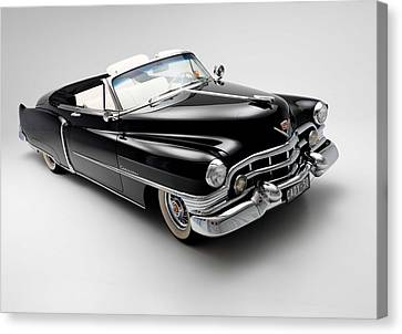 Canvas Print featuring the photograph 1950 Cadillac Convertible by Gianfranco Weiss