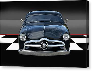 1950 Ford Custom I Canvas Print by Dave Koontz