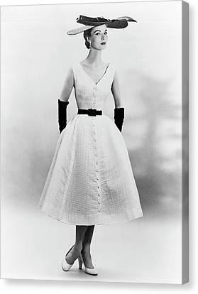 1950s Fashion Canvas Print