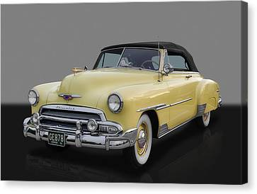 1951 Chevrolet Deluxe Canvas Print