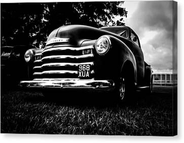 1951 Chevy Pickup Canvas Print by motography aka Phil Clark