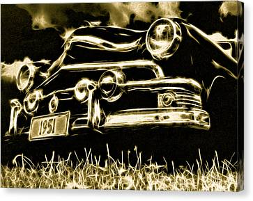 1951 Ford V8 Convertible Canvas Print by Phil 'motography' Clark