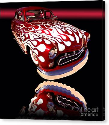 1951 Mercury Sedan Canvas Print