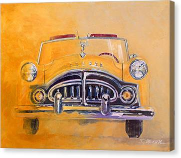 1951 Packard Clipper Canvas Print by Ron Patterson