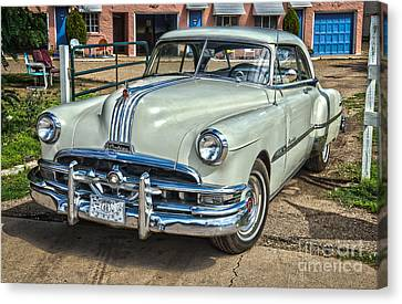 1951 Pontiac Chieftain Side View Canvas Print by Bob and Nancy Kendrick
