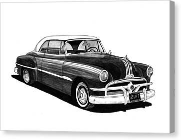 1951 Pontiac Hard Top Canvas Print by Jack Pumphrey