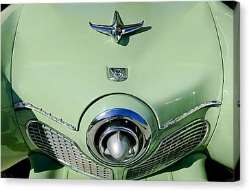 1951 Studebaker Commander Hood Ornament 2 Canvas Print by Jill Reger