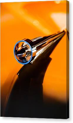 1951 Studebaker Pickup Truck Hood Ornament Canvas Print by Jill Reger