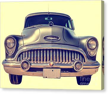 1953 Buick Roadmaster Canvas Print by Edward Fielding