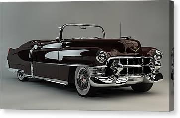 Louis Ferreira Art Canvas Print - 1953 Cadillac Eldorado by Louis Ferreira