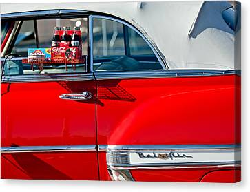1953 Chevrolet Belair Convertible Canvas Print by Jill Reger