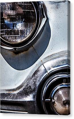 1953 Chevy Headlight Detail Canvas Print