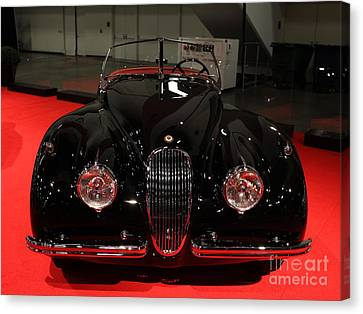 1953 Jaguar Xk 120 Se Roadster - 5d19930 Canvas Print by Wingsdomain Art and Photography