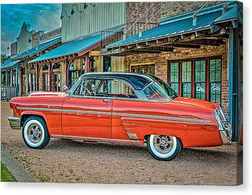 1953 Mercury Monterey Named Maybellene Canvas Print