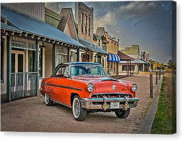 1953 Mercury Monterey Parked Canvas Print