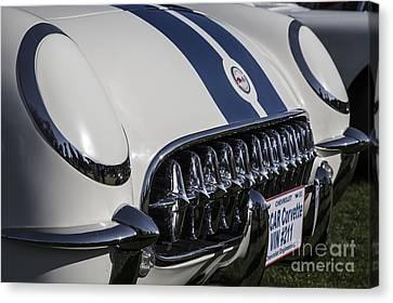 1953 Nascar Corvette Canvas Print by Dennis Hedberg
