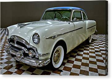 1953 Packard Clipper Canvas Print by Michael Gordon