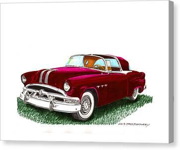1953 Pontiac Parisienne Concept Canvas Print by Jack Pumphrey