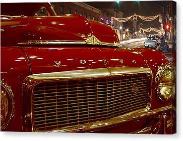 1953 Volvo Pv 444 Canvas Print by Michael Porchik