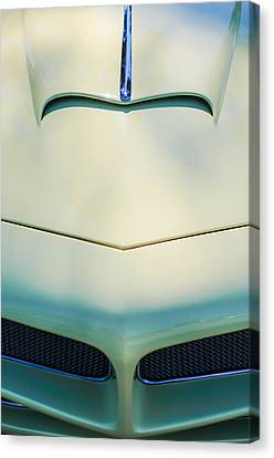 1954 Fiat 1100 Berlinetta Stanguellini Bertoneo Front End -0414c Canvas Print by Jill Reger