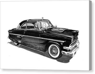 1954 Ford Skyliner Canvas Print