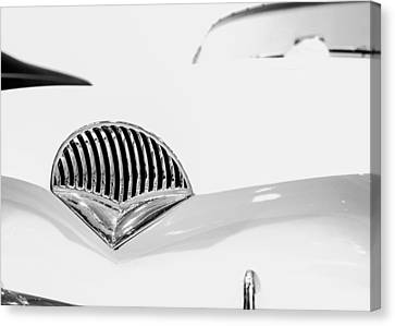 Grill Canvas Print - 1954 Kaiser Darrin Grill by Jon Woodhams