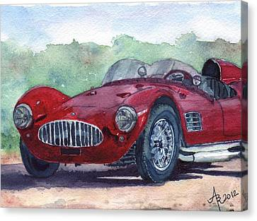 1954 Maserati A6 Gsc Tipo Mm Canvas Print