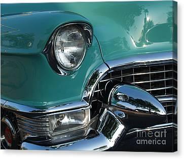 1955 Cadillac Coupe De Ville Closeup Canvas Print