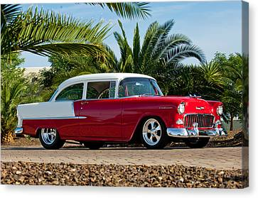 1955 Chevrolet 210 Canvas Print by Jill Reger