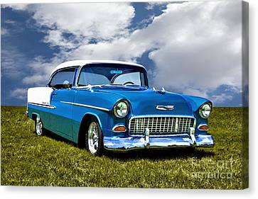 1955 Chevrolet Bel Air Canvas Print