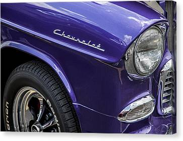 1955 Chevrolet Purple Monster Canvas Print