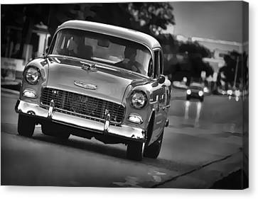 1955 Chevy Bel Air Canvas Print by Gordon Dean II