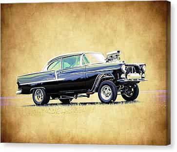 1955 Chevy Gasser Canvas Print