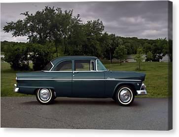 1955 Ford Customline Canvas Print by Tim McCullough