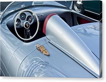 1955 Canvas Print - 1955 Porsche Spyder  by Jill Reger