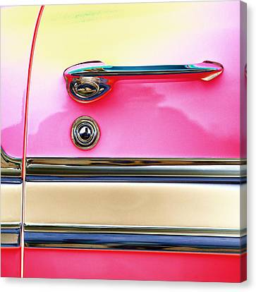 1956 Chevrolet Bel Air Canvas Print by Carol Leigh