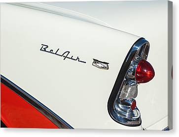 1956 Chevrolet Belair Coupe Taillight Canvas Print by Jill Reger