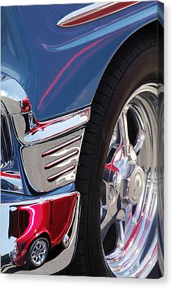 1956 Chevrolet Handyman Wagon Wheel -179c Canvas Print