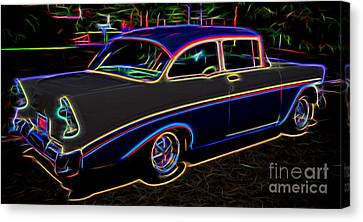 1956 Chevy Bel Air - Classic Car  Canvas Print