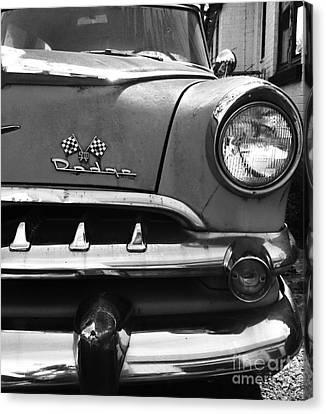 1956 Dodge 500 Series Photo 5 Canvas Print by Anna Villarreal Garbis