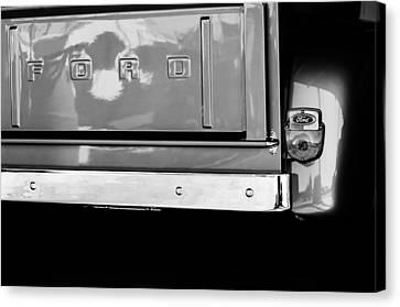 1956 Ford F-100 Truck Taillight Emblem Canvas Print