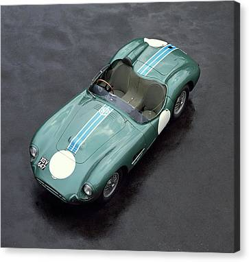 1957 Aston Martin Dbr2 4.2 Litre Sports Canvas Print by Panoramic Images