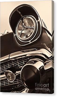 1957 Chevy Details Canvas Print