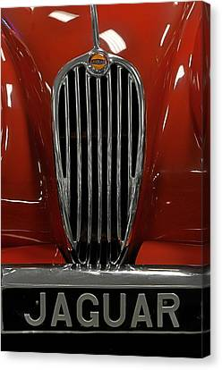 1957 Jaguar Xk 140 Mc Canvas Print by Keith Gondron