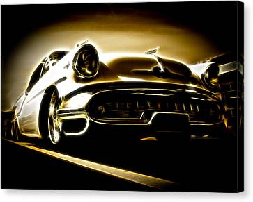 1957 Oldsmobile 88 Canvas Print by Phil 'motography' Clark