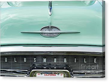 1957 Oldsmobile Super 88 Canvas Print by Tim Gainey