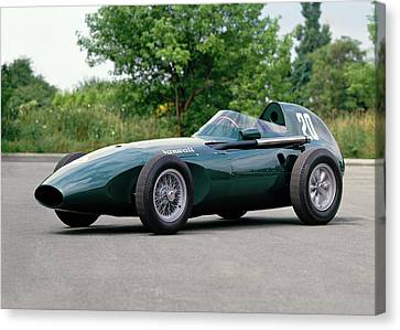 1957 Vanwall Formula One Vw10 Single Canvas Print by Panoramic Images